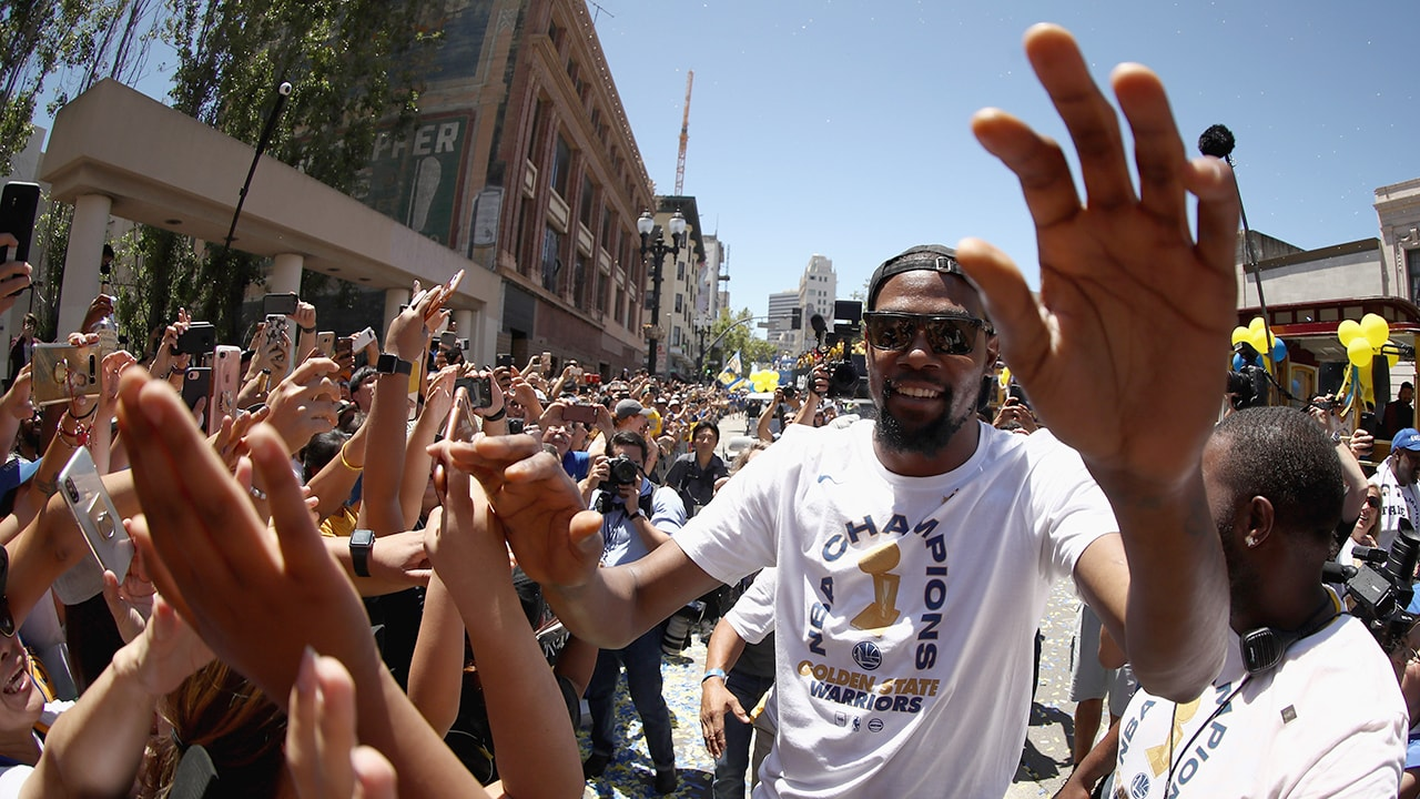 Warriors Re-sign Forward Kevin Durant | Golden State Warriors