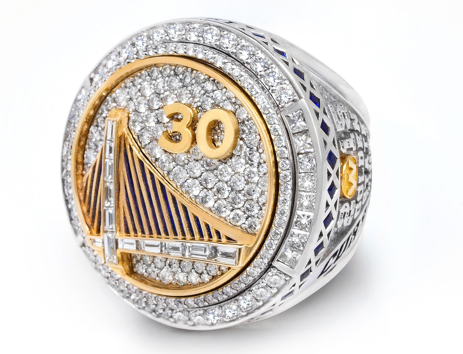 Championship Ring Hidden Gems | Golden State Warriors