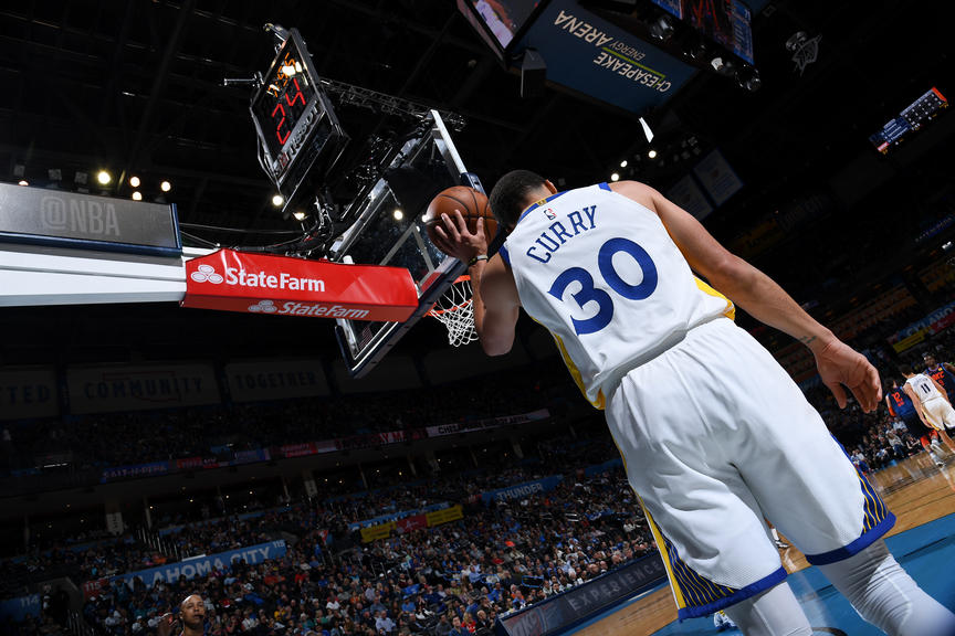 brand new 93be3 bbf08 Photos: Warriors at Thunder - 3/16/19 | Golden State Warriors
