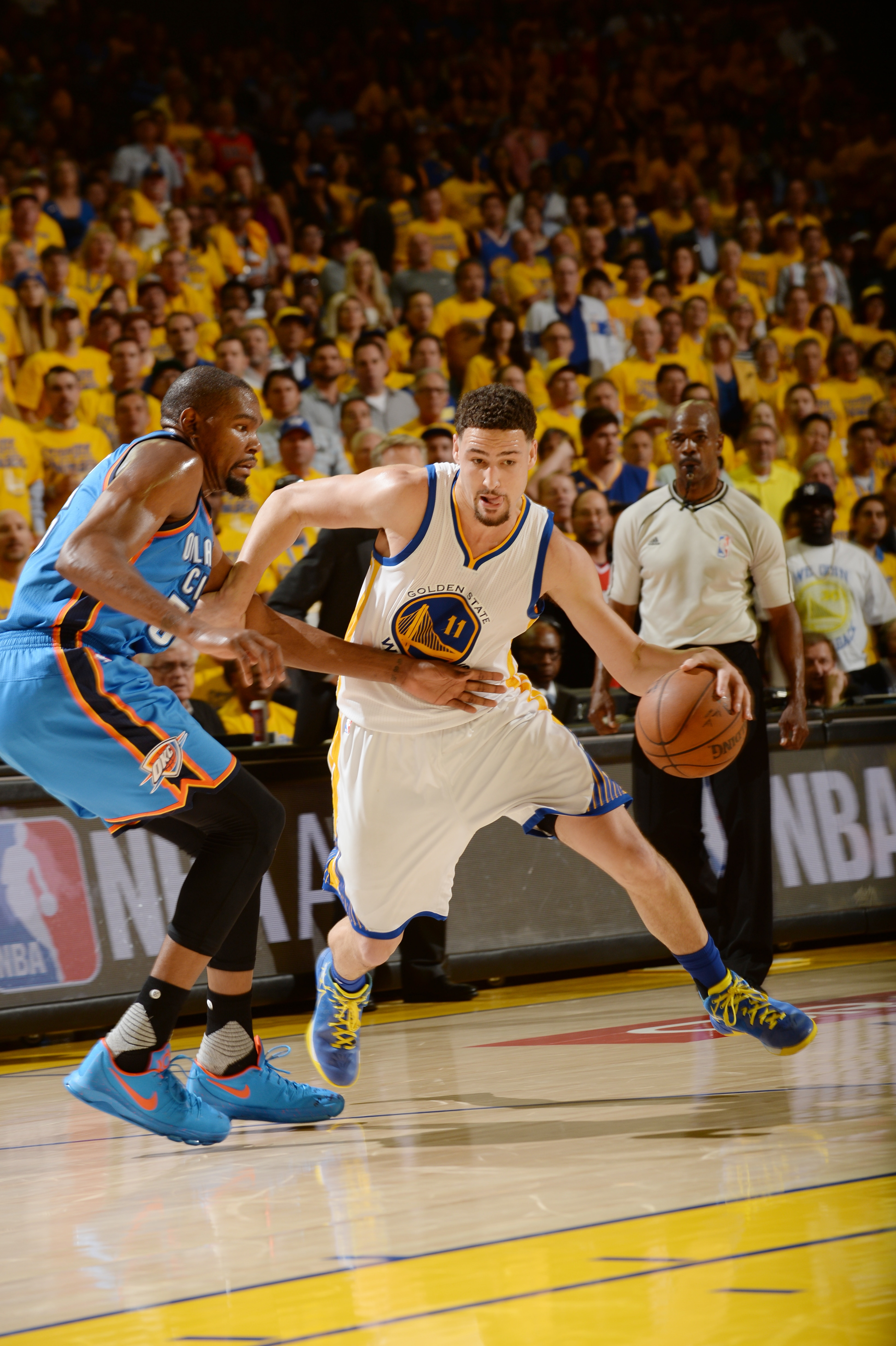 Thunder Top Warriors in Game 1 | Golden State Warriors