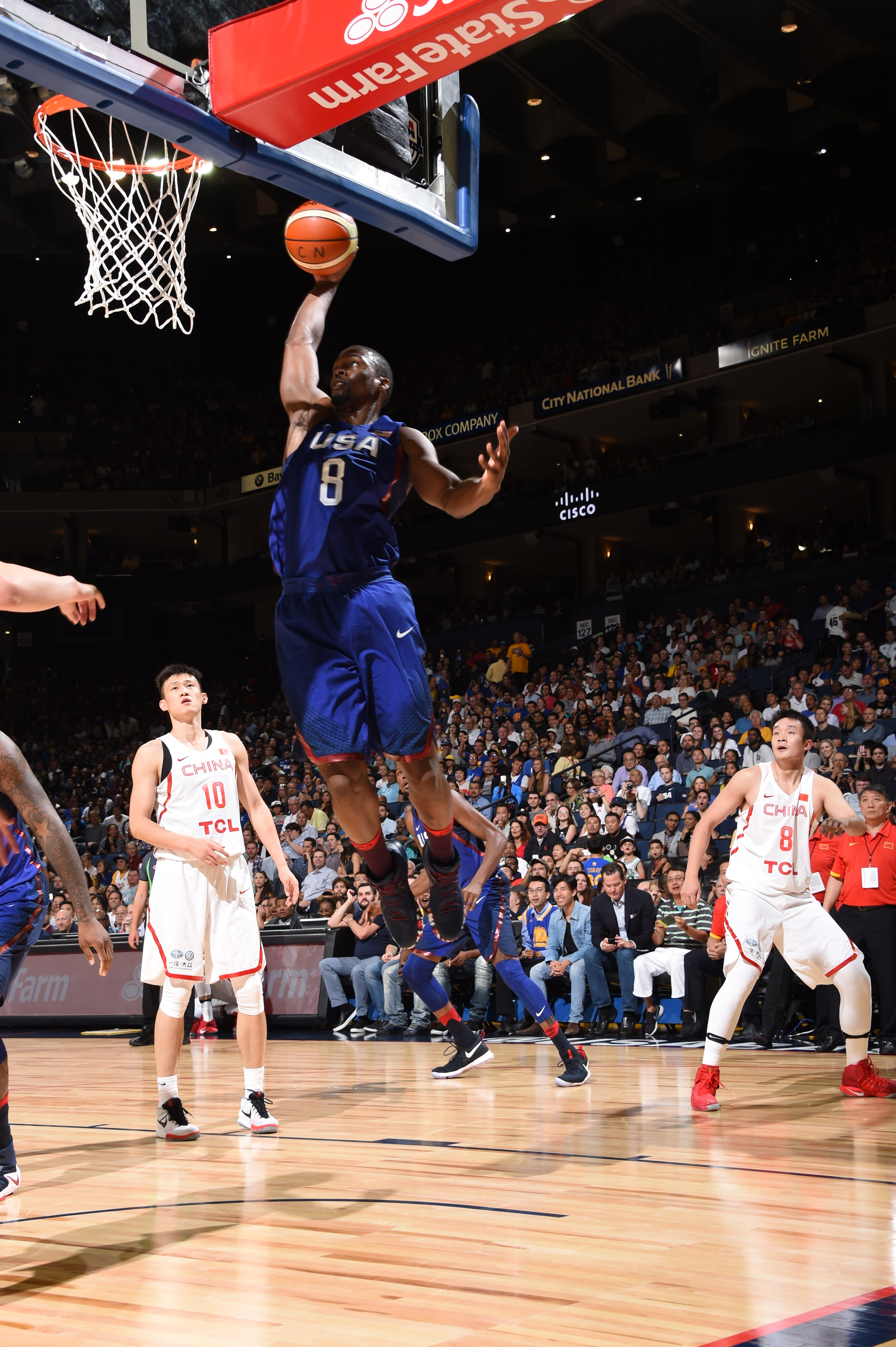 Team USA Defeats China in Durant's Oracle Debut | Golden State Warriors
