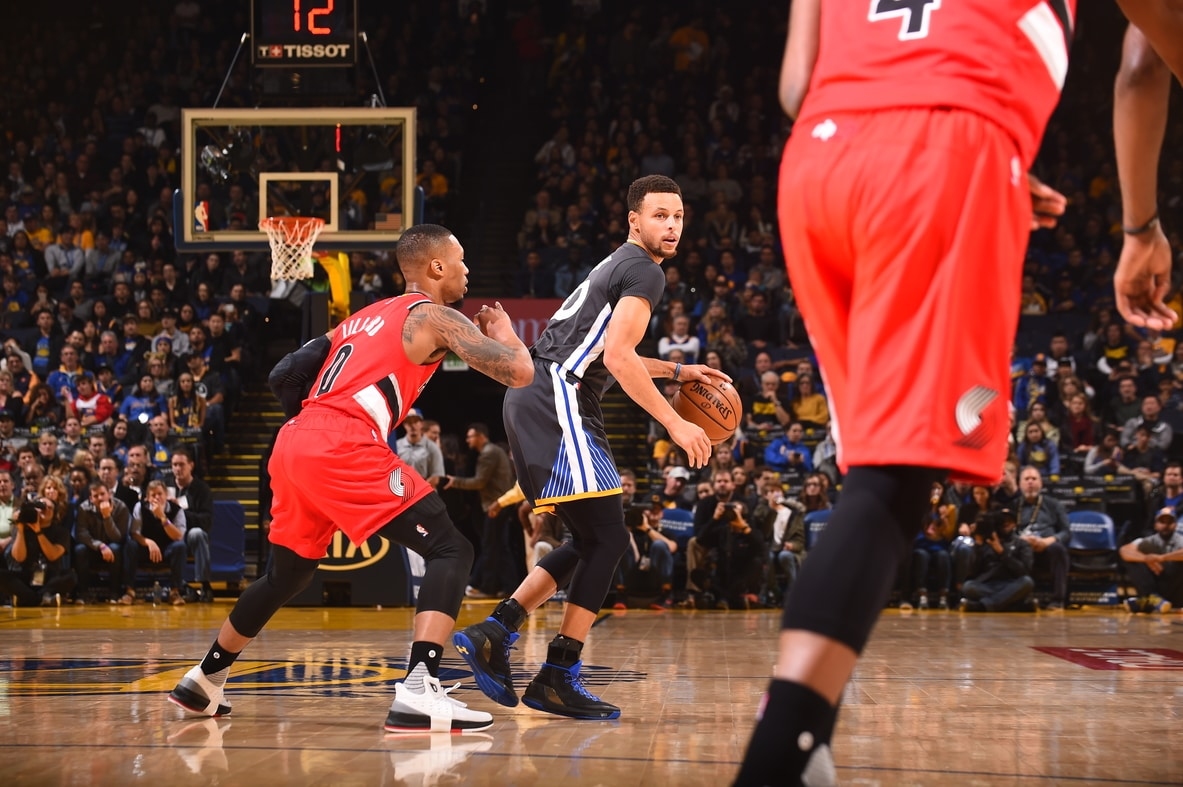 warriors vs trail blazers - photo #46