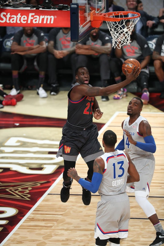 Warriors, West Prevail in 2017 All-Star Game   Golden State Warriors