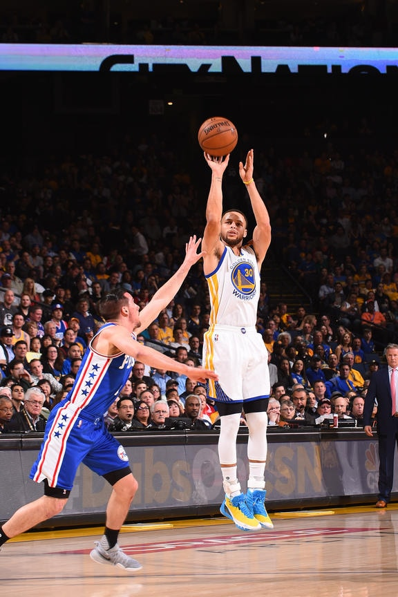Warriors Surge Past Sixers in Fourth Quarter   Golden State Warriors