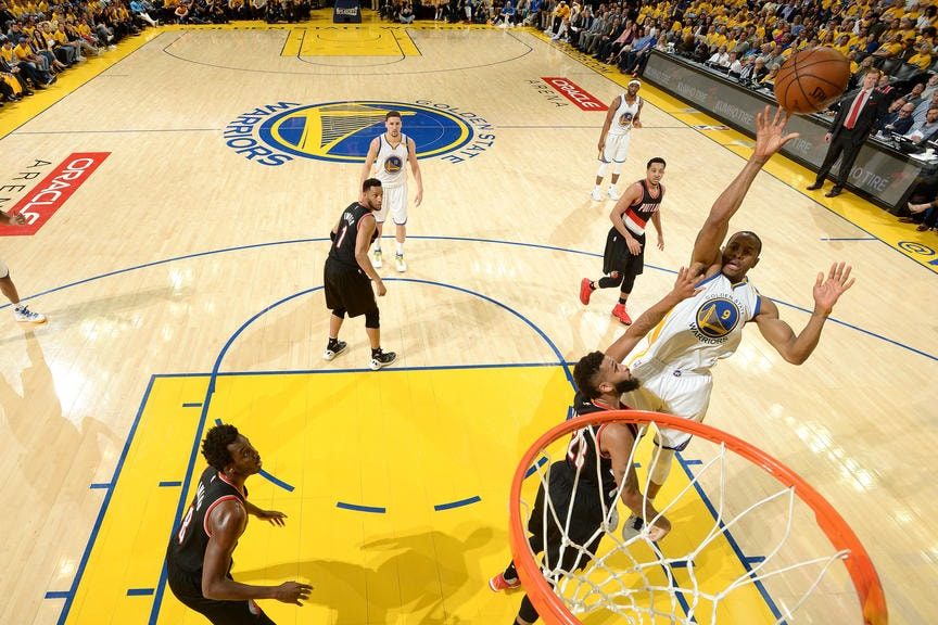 Portland Trail Blazers v Golden State Warriors - Game Two