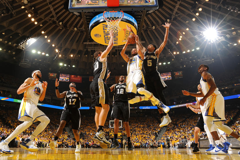 San Antonio Spurs v Golden State Warriors - Game One