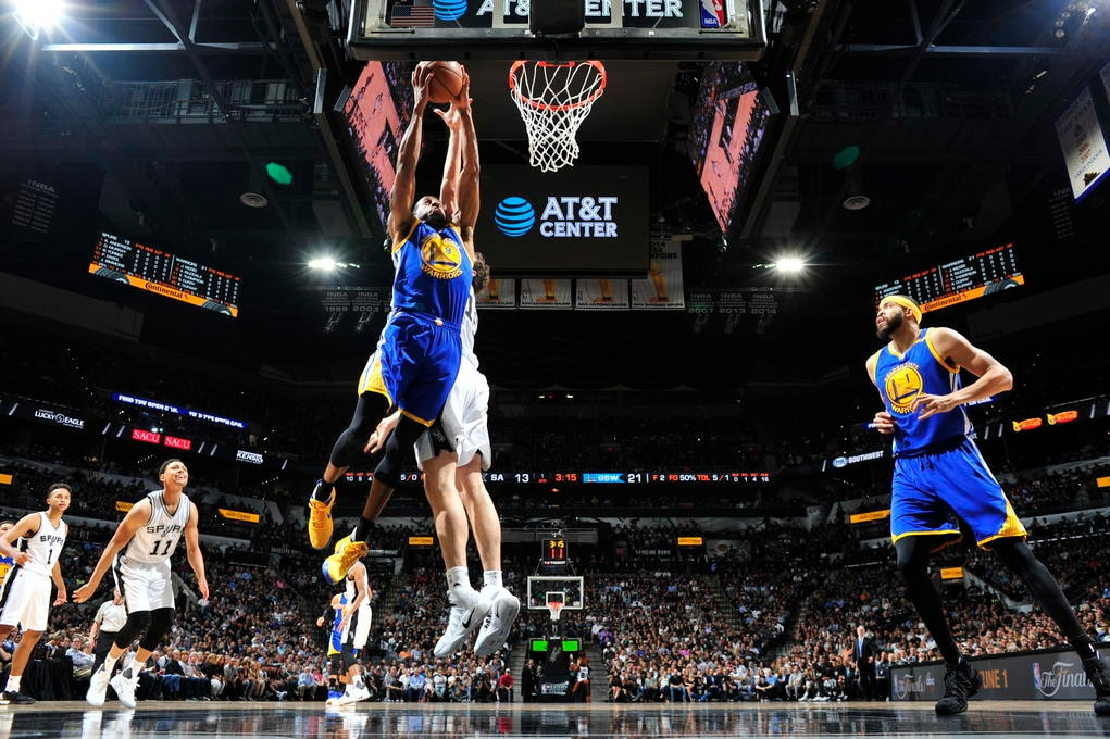 Golden State Warriors v San Antonio Spurs - Game Four