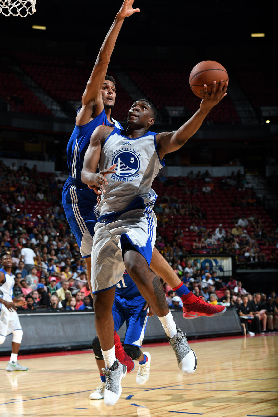 2017 Las Vegas Summer League - Philadelphia 76ers v Golden State Warriors