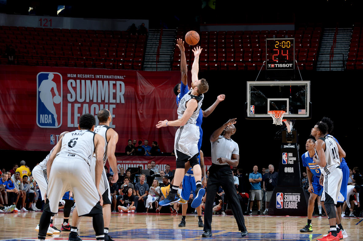 2017 Las Vegas Summer League - Golden State Warriors v Minnesota Timberwolves