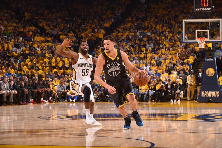 80a7d10915ee Warriors Beat Pelicans in Curry s Return