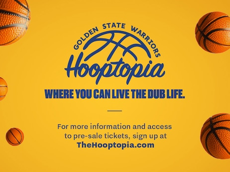 "Warriors and Candytopia Collaborate to Open ""Warriors Hooptopia"" at Thrive City"