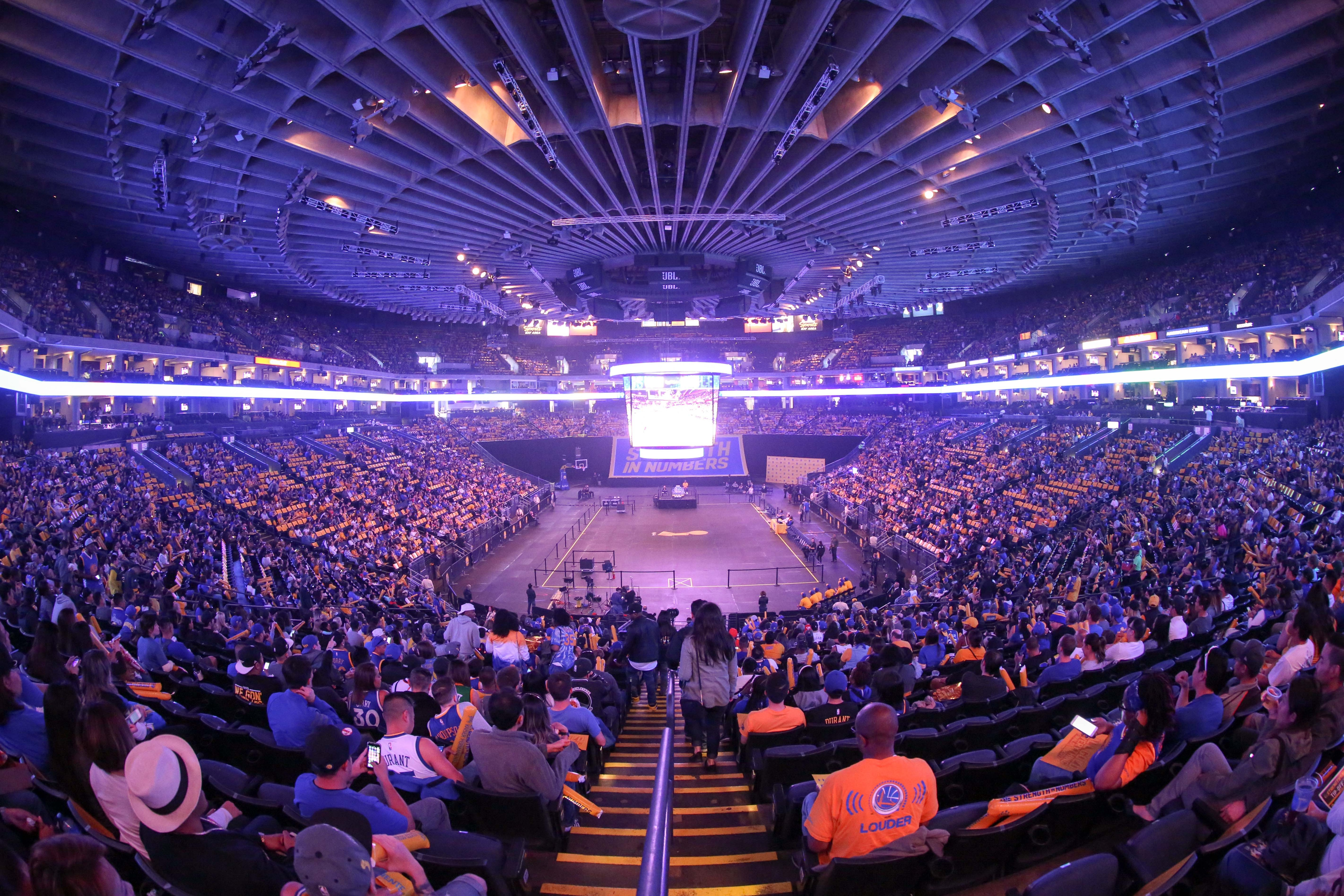 Warriors To Host Official Watch Party At Oracle Arena For