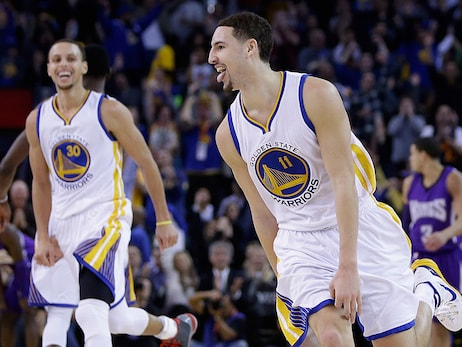 This Date in Warriors History: Klay 37