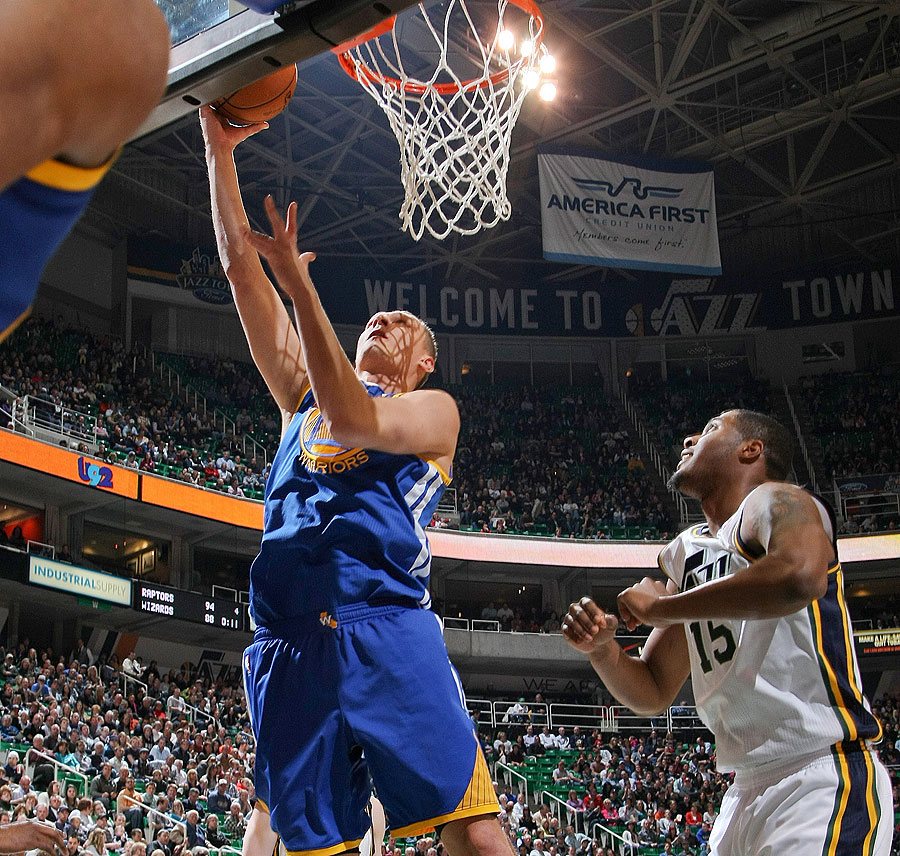Warriors New Stadium Season Tickets: Warriors - Jazz Recap Photos - 2/19/13