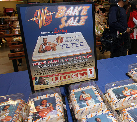 Warriors Bake Sale Presented By Lucky Golden State Warriors