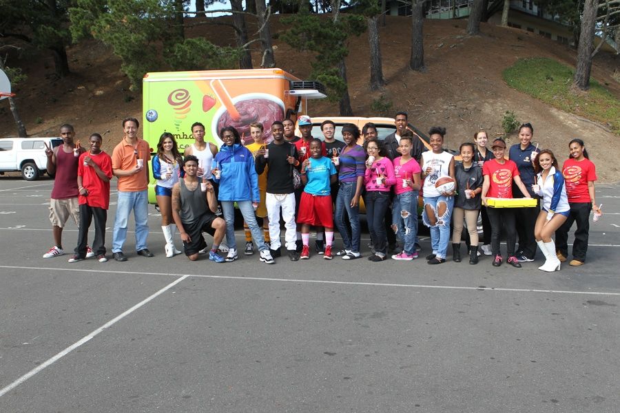 Jamba Juice Basketball Clinic Golden State Warriors