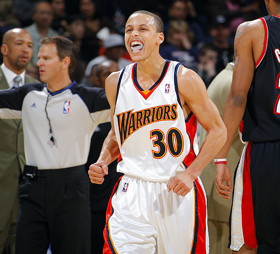 Stephen Curry: Rookie Of The Month - March 2010