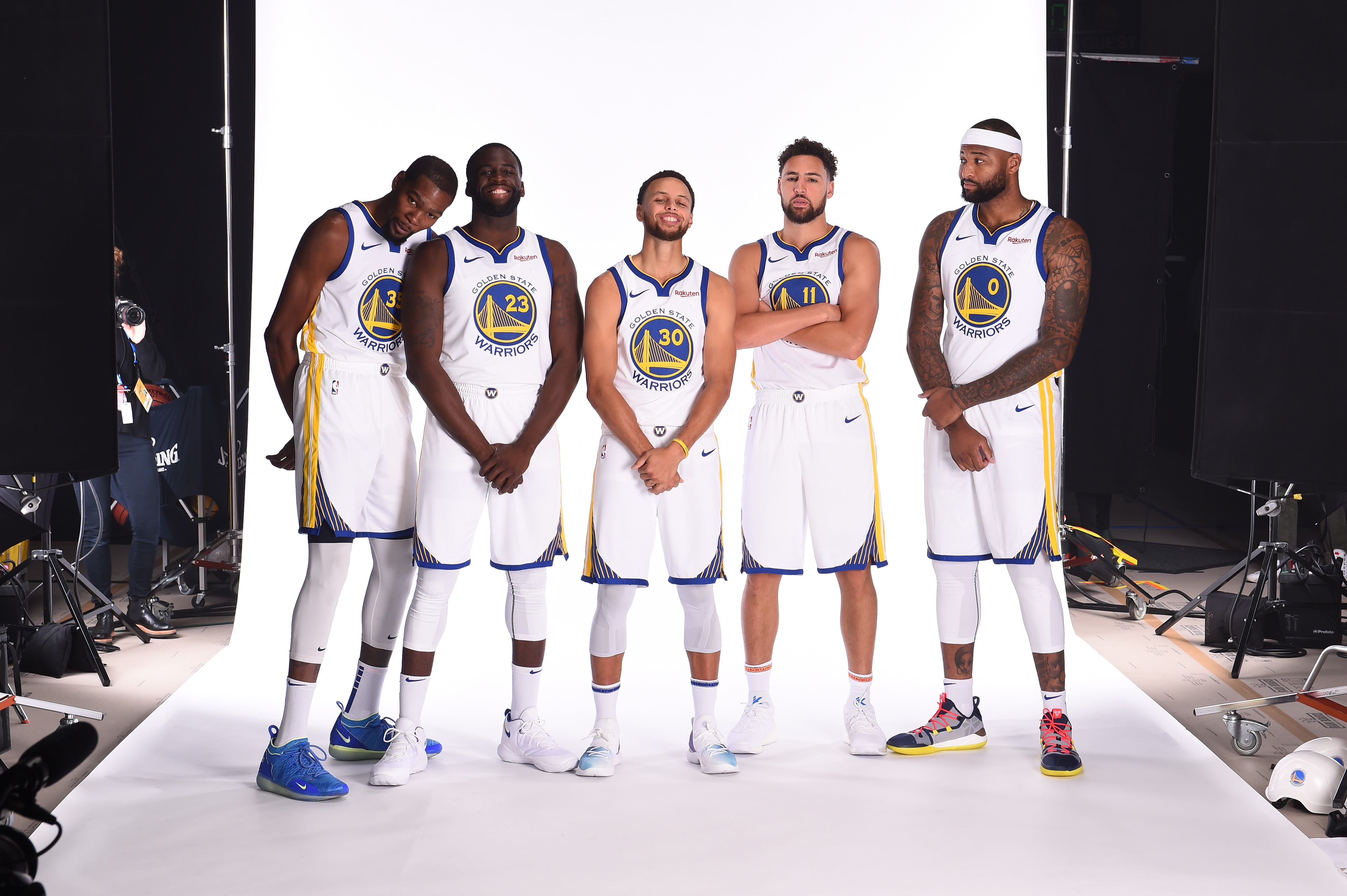 2018 Media Day Portraits | Golden State Warriors