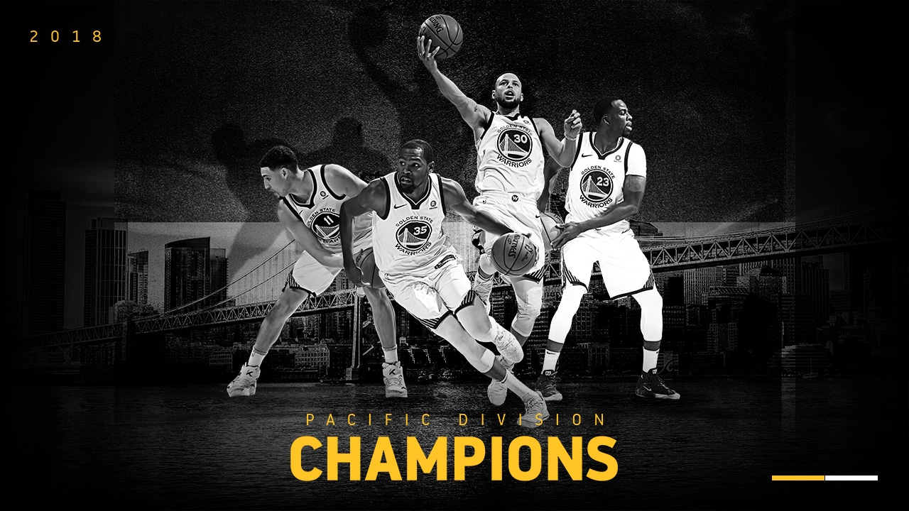Warriors Clinch Fourth-Straight Pacific Division Title