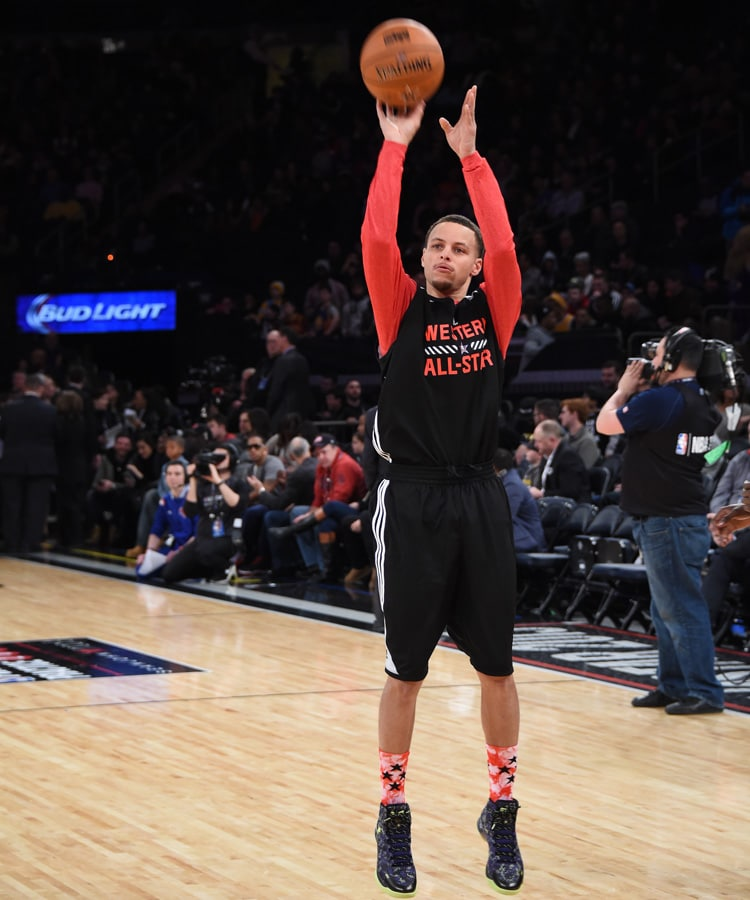 b635c4286d47b7 Nothing but Splash: Stephen Curry Wins 3-Point Contest | Golden ...