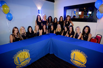 Warriors Dance Team 2015 Swimsuit Calendar Unveiling Party