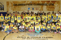 Warriors Community Foundation and PG&E To Unveil Renovated Basketball Court At San Francisco's Columbia Park Playhouse