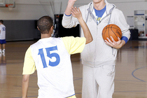 Warriors' Special Olympics Basketball Clinic
