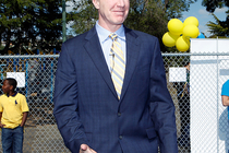 Chris Mullin Courts Dedication Ceremony - 4/23/12