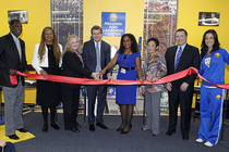 Warriors Unveil Reading & Learning Center