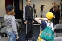 Stephen Curry Meet And Greet - 12/20/10