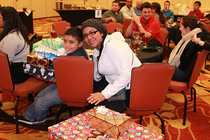 Warriors Family Adoptions Holiday Luncheon - 1