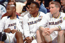 Tim Hardaway, Mitch Richmond and Chris Mullin