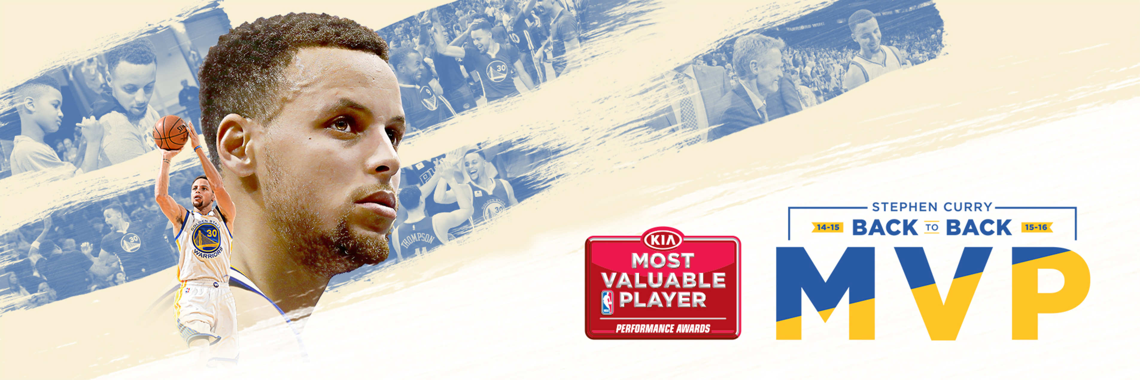Stephen Curry Named Unanimous Winner of 2015-16 Kia NBA Most Valuable Player Award
