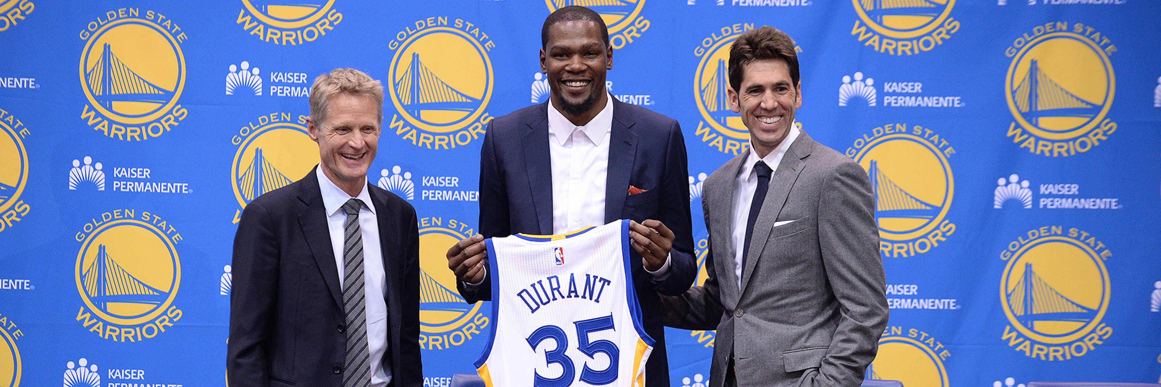 Warriors Sign Free Agent Forward Kevin Durant
