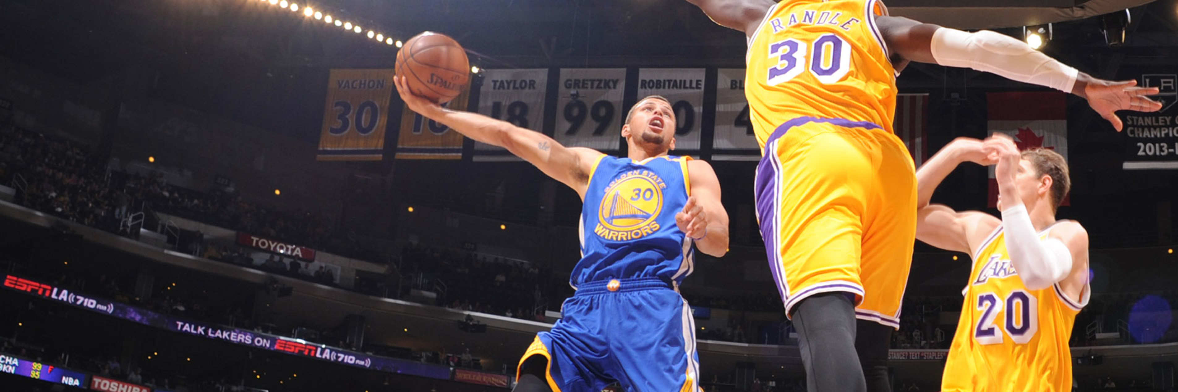 Warriors Lose to Lakers in Los Angeles   Golden State Warriors