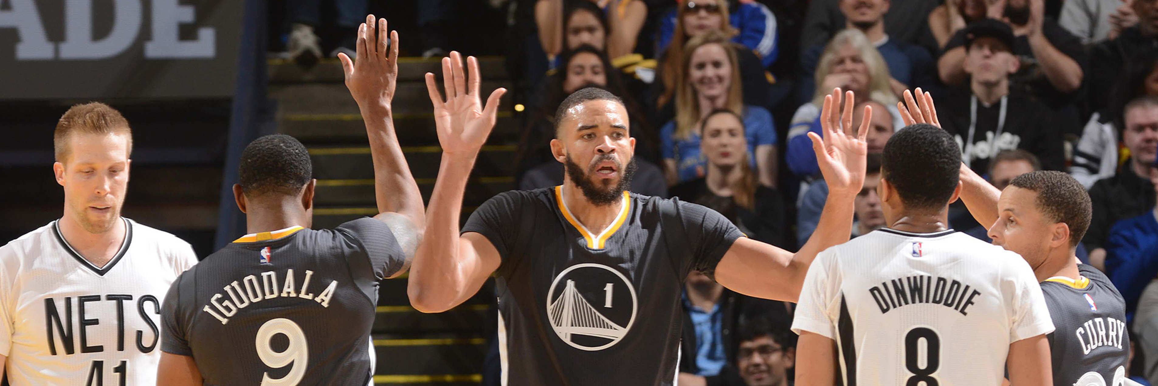 Warriors Hold Off the Nets