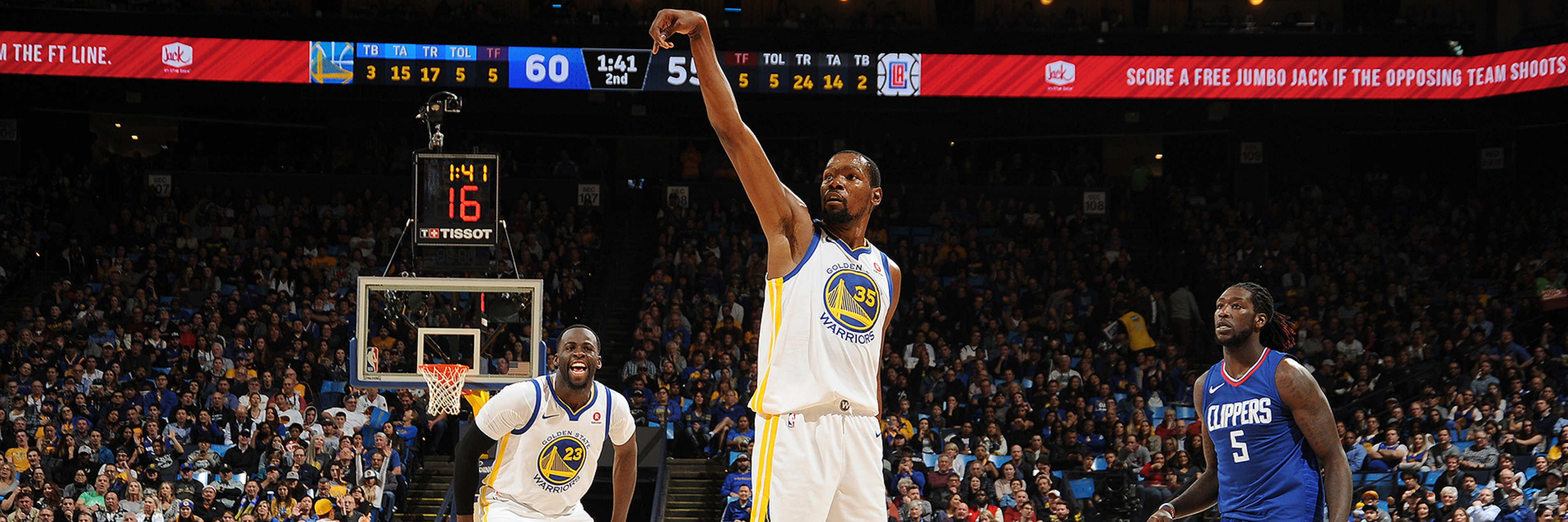 KD Passes 20,000 Career Points Milestone in Dubs' Defeat