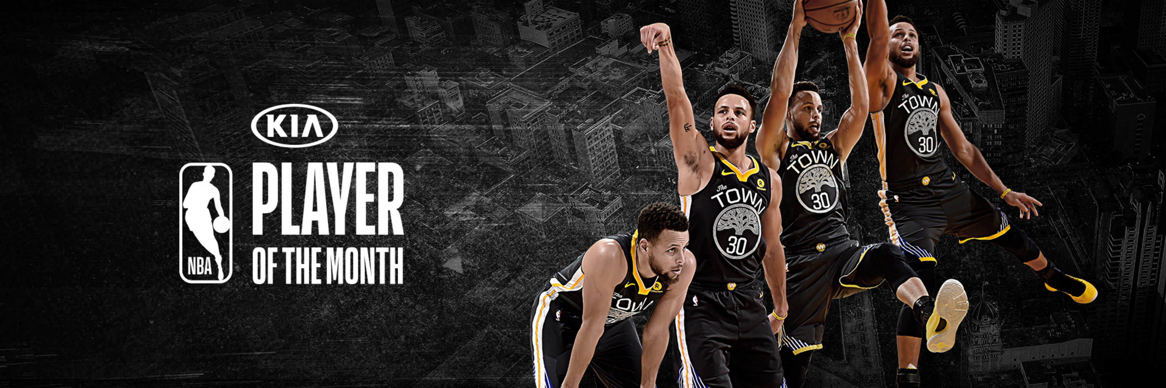 Stephen Curry Named Kia Western Conference Player of the Month