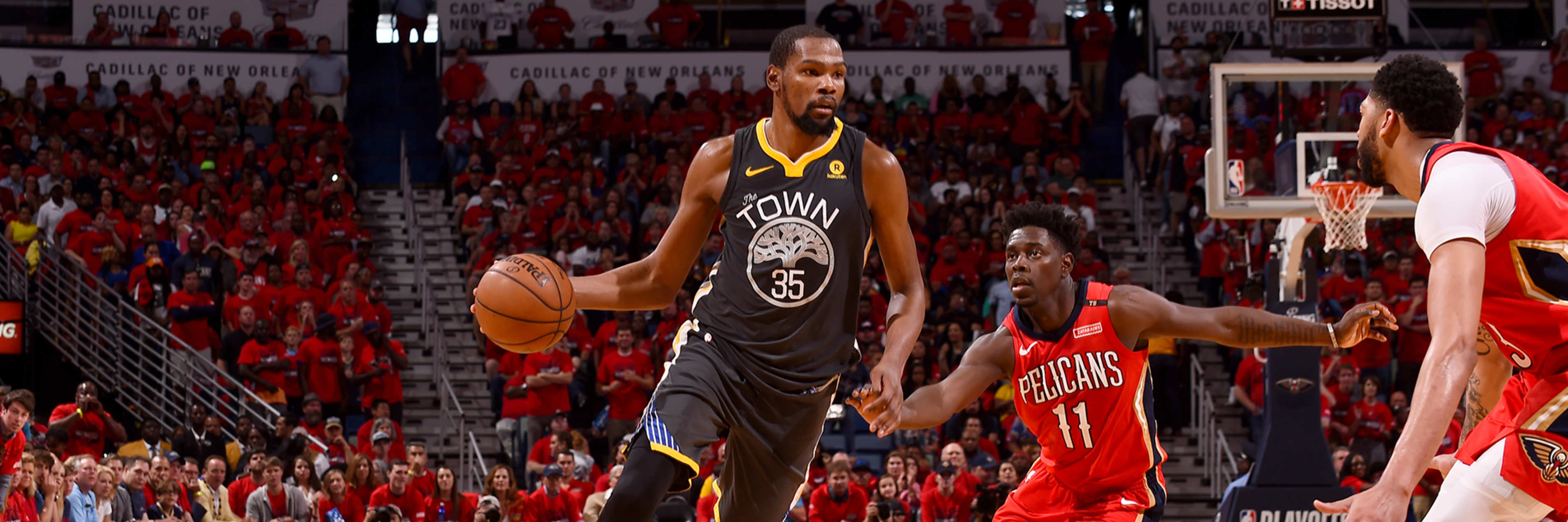 Durant Dubs Dominate Game 4 in New Orleans
