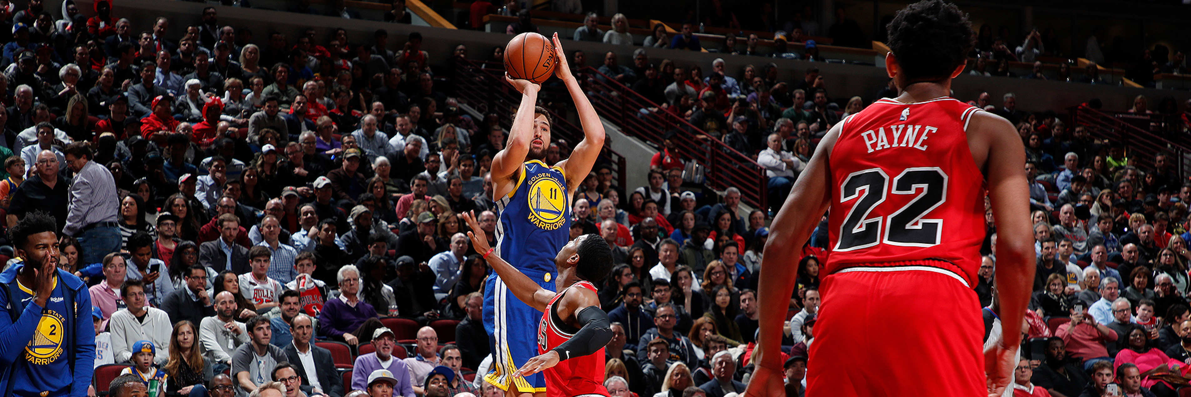 What You Might Have Missed During Klay's 14 3-Pointer Game