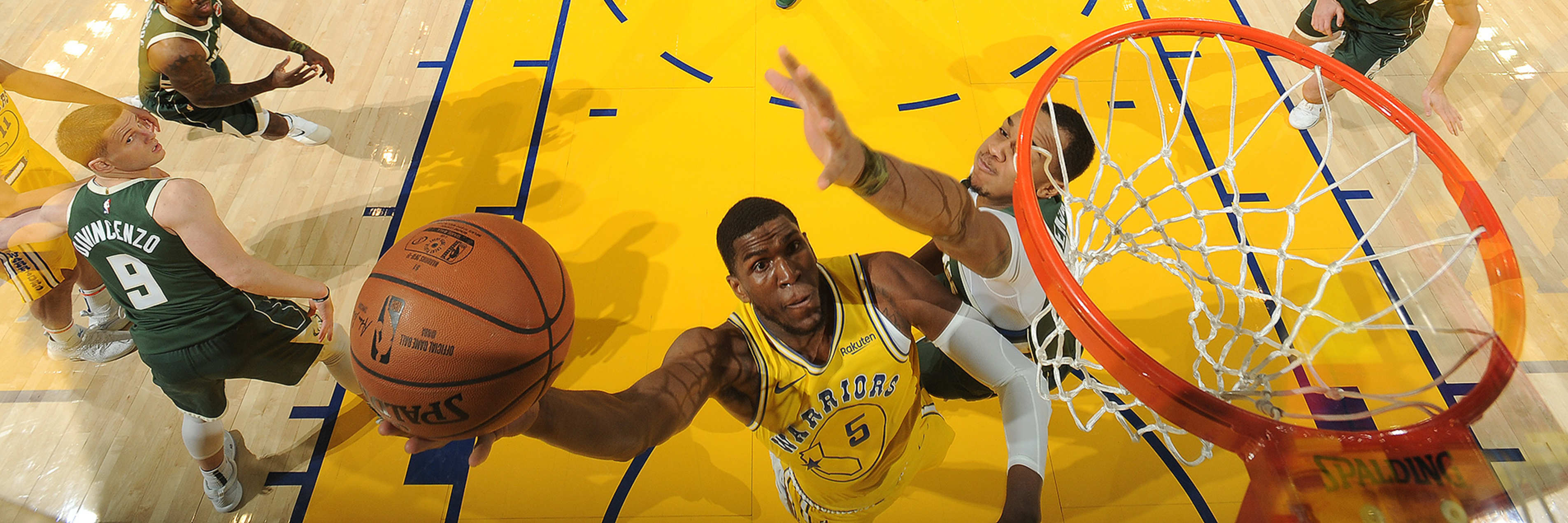 Warriors Downed by Bucks