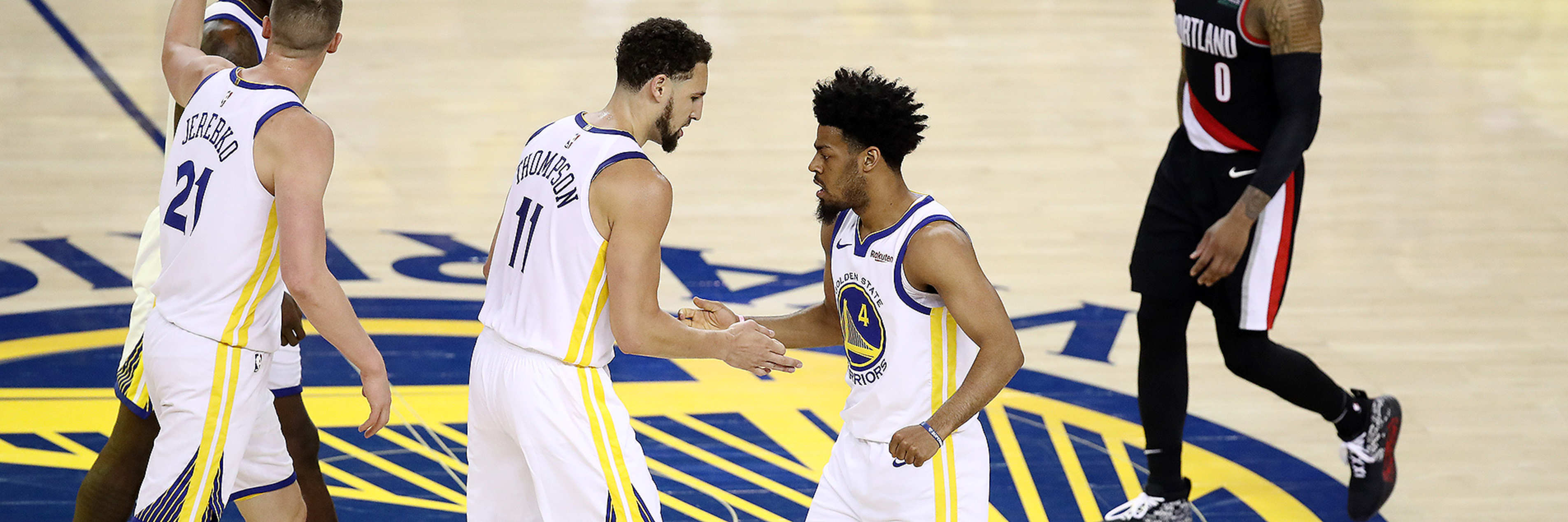 A Look Back at the Dubs' Game 1 Victory Over Portland