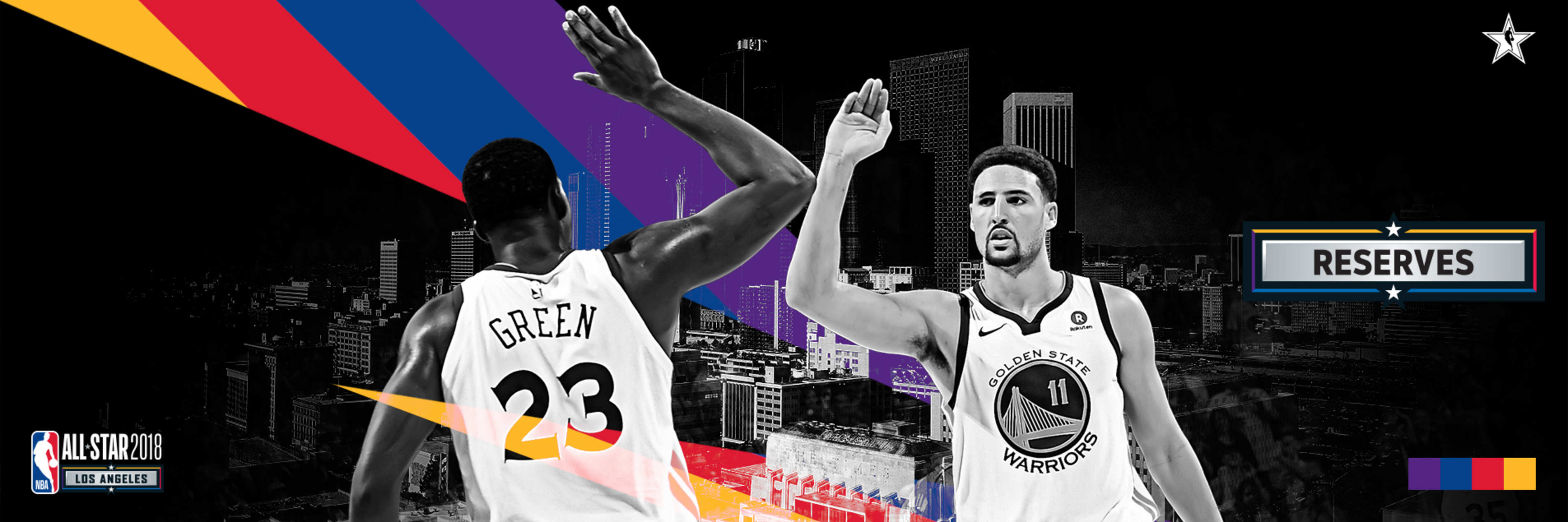 Draymond and Klay Named All-Star Reserves