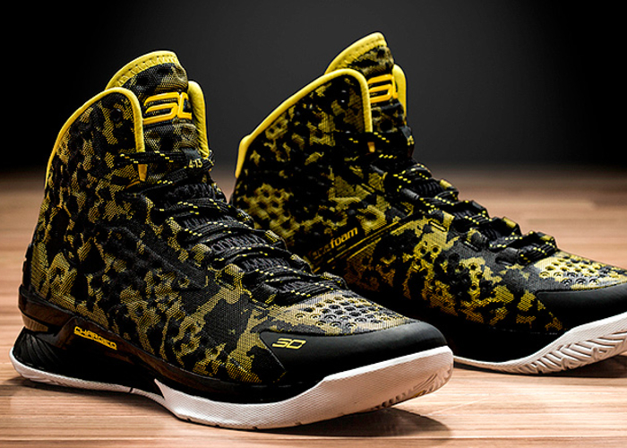 d1bf84ca3f3 Under Armour Debuts Stephen Curry's First Signature Shoe | Golden ...