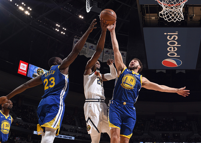 Draymond Green and Klay Thompson Named to 2018-19 NBA All-Defensive Second Team   Golden State Warriors