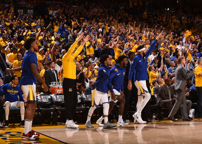 The Scene on Warriors Ground: Western Conference Finals | Golden