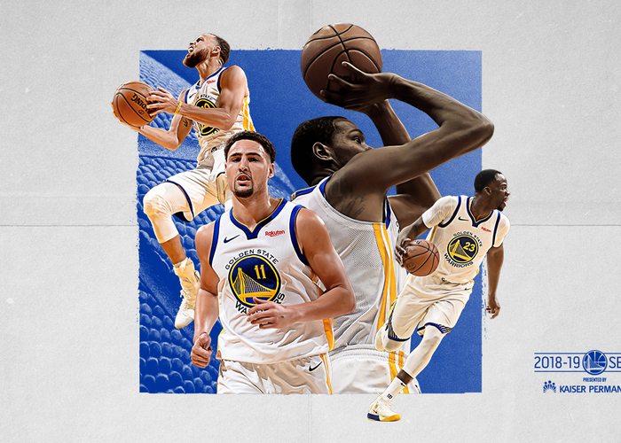 Back To Back Nba Champion Golden State Warriors Announce