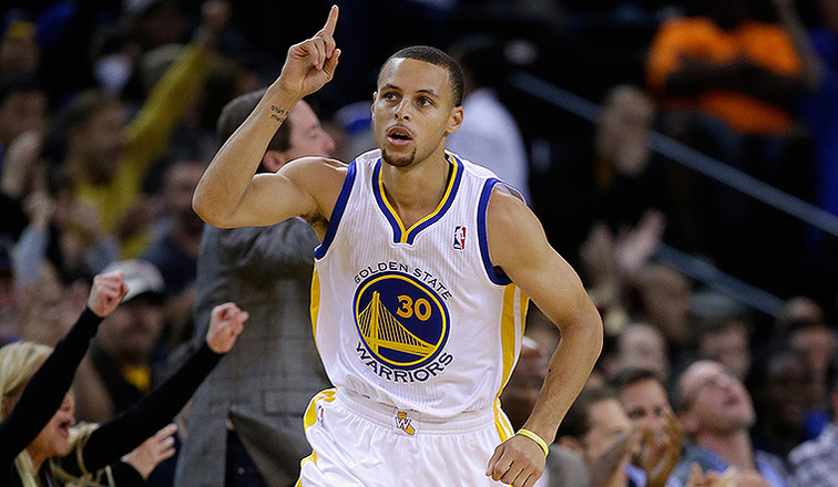 Stephen Curry Named to All-NBA Second Team
