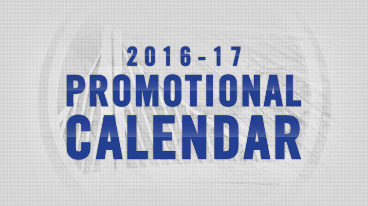 warriors announce promotional schedule for 2016 17 nba season