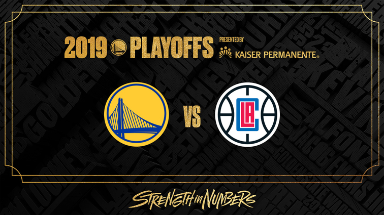 9703b6ec944 Warriors Announce Schedule for First Round Playoff Series Against Los  Angeles Clippers